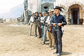 「荒野の七人」の一場面「ロンゲスト・ヤード」