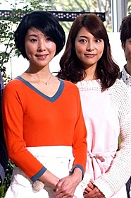 姑役の黒木瞳(左)と悪嫁役の相武紗季「白い巨塔(1966)」