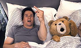 初登場首位を飾った「テッド」「テッド」