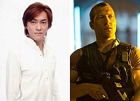 亡き父の姿を胸に、ジャック・マクレーン(右)の 吹き替えに挑んだ野沢聡(左)「ダイ・ハード」