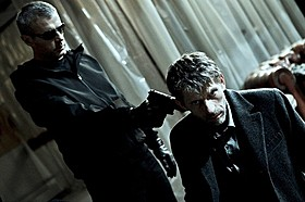 「ブラインドマン その調律は暗殺の調べ」の一場面「ブラインドマン その調律は暗殺の調べ」