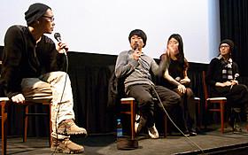 ヤン・イクチュン監督らがトークイベント「しば田とながお」