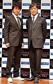 初共演を果たした上川隆也と柴田恭兵「マークスの山」