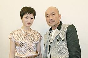 タッグを組んだ平田薫と竹中直人「R-18文学賞 vol.1 自縄自縛の私」