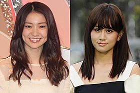日本アカデミー賞授賞式で2ショットを 披露予定の大島優子(左)と前田敦子「闇金ウシジマくん」