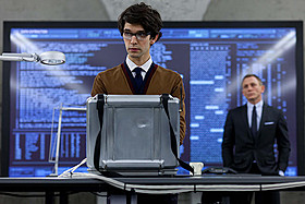 Q役で出演したベン・ウィショー「007 スカイフォール」
