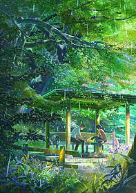声優は入野自由&花澤香菜に決定!「言の葉の庭」