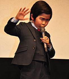 スーツで登場した鈴木福くん「コドモ警察」
