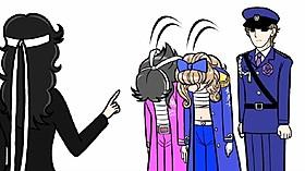 「ガラスの仮面」がギャグアニメ化!