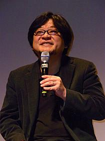 トークショーを行った細田守監督「おおかみこどもの雨と雪」