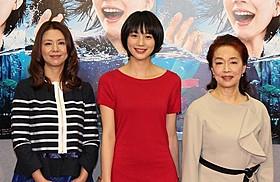 クドカン脚本の朝ドラヒロインに挑む能年玲奈(中央)