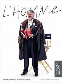 ギャラリー・ラファイエットのキャンペーンモデルを務める ペドロ・アルモドバル監督