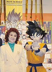 内覧会に出席した野沢雅子「DRAGON BALL Z 神と神」