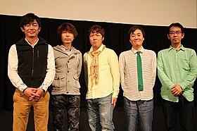 THE BOOMのメンバーと真喜屋力監督「THE BOOM 島唄のものがたり」