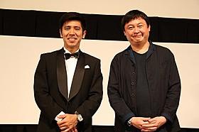 沖縄国際映画祭に参加したゴリと橋本一監督「探偵はBARにいる」