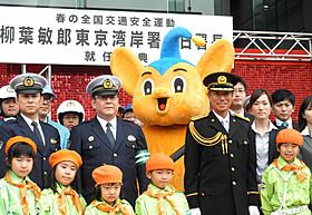 一日警察署長に就任した柳葉敏郎「踊る大捜査線 THE FINAL 新たなる希望」
