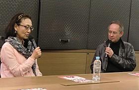 佐々木芽生監督とピーター・バラカン氏「ハーブ&ドロシー ふたりからの贈りもの」