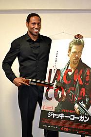 「ブラピはお気に入りの俳優」とご機嫌のカーバー「ジャッキー・コーガン」