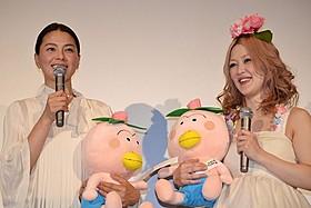 声優に挑戦した江角マキコと松嶋尚美「映画はなかっぱ 花さけ!パッカ~ん♪ 蝶の国の大冒険」