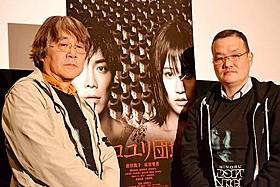 トークイベントに出席した 中田秀夫監督と撮影監督の林淳一郎「リング」