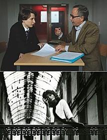 「In the House(英題)」(上)と「ローラ」の場面写真「ローラ(1960)」