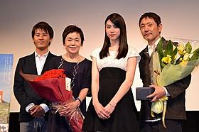 若手女優・三吉彩花が初主演「旅立ちの島唄 十五の春」