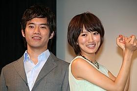 初共演した三浦貴大と夏菜「監禁探偵」