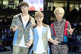 新シングルを発売した3人組ユニット・ソナーポケット