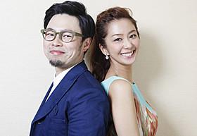 息の合った演技を見せた優香と浜野謙太「体脂肪計タニタの社員食堂」