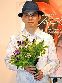 新作について語った石井岳龍監督「シャニダールの花」