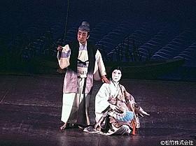 「隅田川」(1981年公演)の一場面