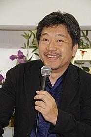 カンヌ審査員賞受賞の喜びを語った是枝裕和監督「そして父になる」