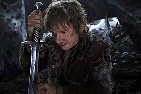 決死の表情のビルボをとらえた初公開画像「ロード・オブ・ザ・リング」