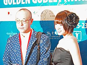 上海国際映画祭に出席した北乃きい&日向寺太郎監督「爆心 長崎の空」
