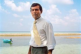 前モルディブ大統領モハメド・ナシード氏「南の島の大統領 沈みゆくモルディブ」
