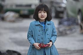 芦田は菊地凛子扮する女性パイロットの少女時代を演じる「パシフィック・リム」