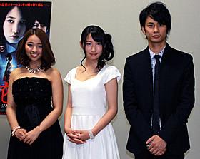 「トイレの花子さん 新劇場版」主演で女優・ 歌手デビューの上野優華らが舞台挨拶に登壇