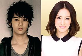 「ジャッジ!」に出演する妻夫木聡と北川景子「ジャッジ!」