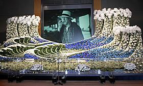 三國さんの代表作「飢餓海峡」をモチーフにした祭壇「釣りバカ日誌」