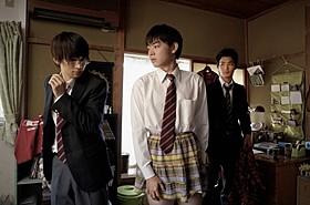 「男子高校生の日常」の一場面「男子高校生の日常」