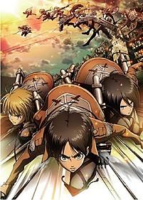 今期大ヒット中のアニメ「進撃の巨人」