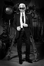 「ファッションを創る男 カール・ラガーフェルド」「ファッションを創る男 カール・