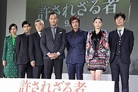 日本版「許されざる者」キャスト陣が撮影を述懐「許されざる者」