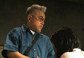 「甘い鞭」を演出中の石井隆監督「ジャンゴ 繋がれざる者」