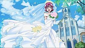 劇場版最新作からウエディングドレス姿のマナがお披露目「映画 ドキドキ!プリキュア マナ結婚!!?未来につなぐ希望のドレス」