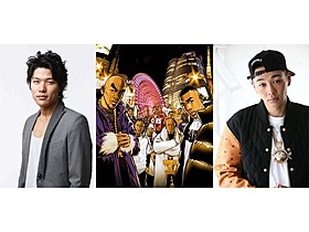 「TOKYO TRIBE」に主演する鈴木亮平とYOUNG DAIS「TOKYO TRIBE」