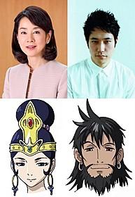 初共演する吉永小百合と松山ケンイチ「BUDDHA2 手塚治虫のブッダ 終わりなき旅」