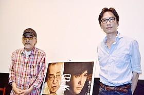 無縁社会を語った小林政広監督(右)と湯浅誠氏「日本の悲劇」