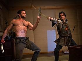 ウルヴァリン(ジャックマン)とシンゲン(真田)が激突「ウルヴァリン:SAMURAI」