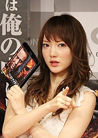 「ゴーストライダー2」をアピールした下田美咲「ゴーストライダー2」